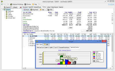 Software for professional electrical estimating